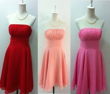 Custom-made bridesmaid dresses, by wonderxue on etsy.com
