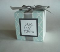 Customised favour boxes, by sweetpartybliss on etsy.com