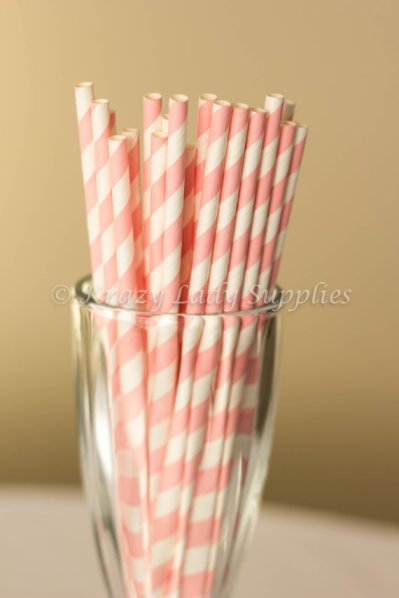 Drinking straws, by KrazyLadySupplies on etsy.com