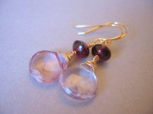 Earrings, by ArtisanJule on etsy.com