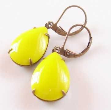 Earrings, by chouettes on etsy.com