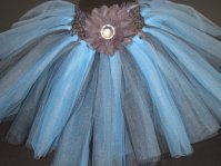 Flower girl tutu, by TutusandTiddlywinks on etsy.com