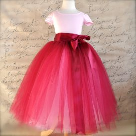 Flower girl tutu, by TutusChicBoutique on etsy.com
