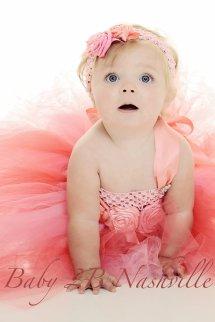 Flower girl tutu dress, by Baby2BNashville on etsy.com