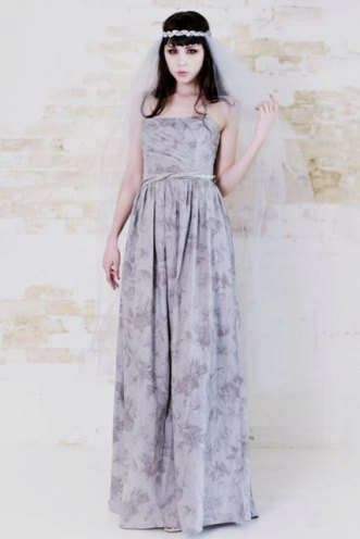 Grey gardens gown, by katetowers on etsy.com