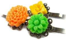 Hair clips, by foreverandrea on etsy.com