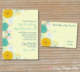 Invitation, by DaisyDesignShop on etsy.com