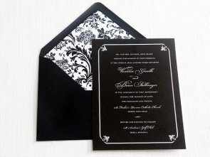 Invitation, by LilacLilyDesign on etsy.com