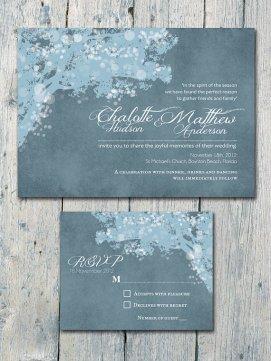 Invitation, by WeddingSundae on etsy.com