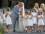 Kate Moss and Jamie Hince had a Great Gatsby-style theme for their wedding