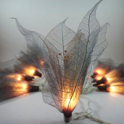 Leaf lights, by marwincraft on etsy.com