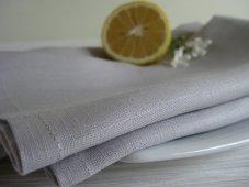 Linen napkins, by MaisonC on etsy.com