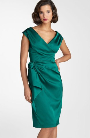 Maggy London Stretch Satin Sheath Dress, from nordstrom.com