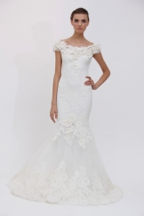 Marchesa gown from Spring 2012 collection