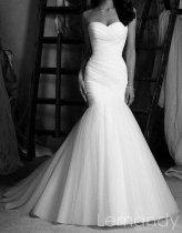 Mermaid wedding dress - US$268, by Lemandyweddingdress on etsy.com