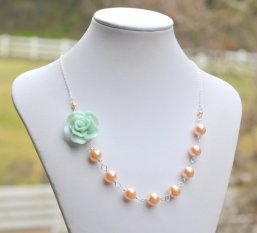 Necklace, by RusticGem on etsy.com