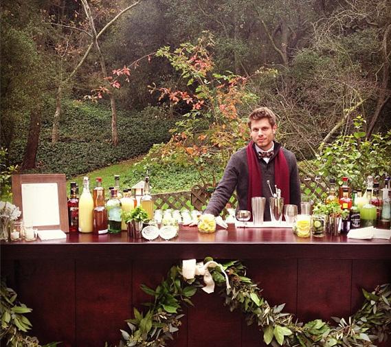Outdoor Wedding Bar Ideas: Outdoor Bar At Cacee Cobb And Donald Faison's Wedding