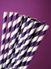 Paper straws, by CupcakeSocial on etsy.com