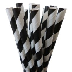 Paper straws, by LetsPartyCreations on etsy.com