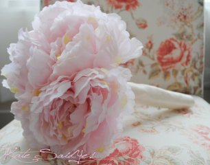 Peony bouquet, by KateSaidYes on etsy.com