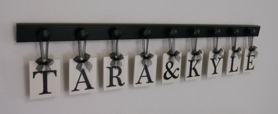 Personalised hanging sign, by NelsonsGifts on etsy.com
