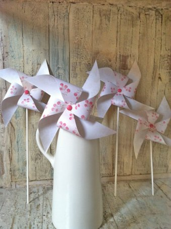 Pinwheels, by HalosHaven on etsy.com
