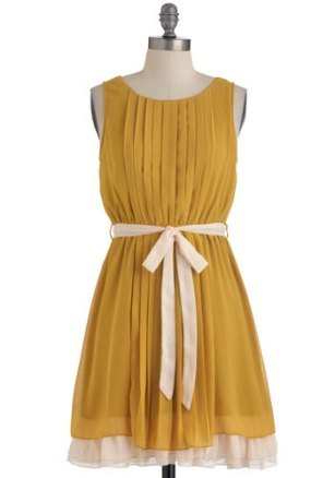 Pleats, Love And Harmony dress, from modcloth.com