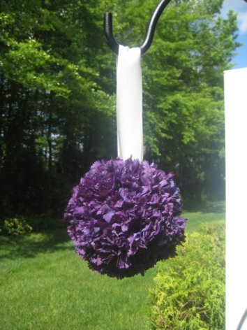 Pomander (kissing ball), by MyKreations4U on etsy.com