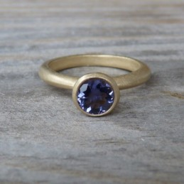 Ring, by onegarnetgirl on etsy.com