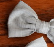 Ringbearer bow tie, by DivineDomestication on etsy.com