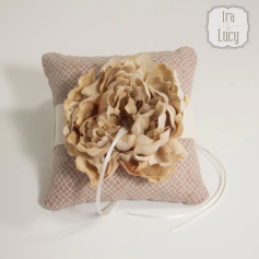 Ringbearer pillow, by IraAndLucy on etsy.com