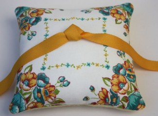 Ringbearer pillow, by LilliansGarden on etsy.com