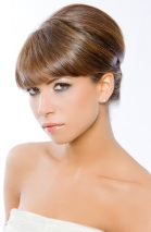 Style with a fringe/bangs