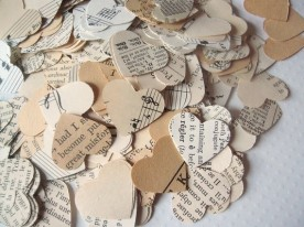 Table confetti, by ddeforest on etsy.com