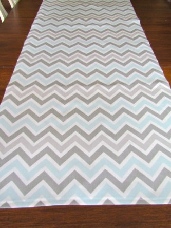 Table runner, by SayItWithPillows on etsy.com