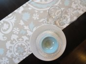 Table runner, by ShopLili on etsy.com