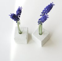 Test tube vases, by LynettesArt on etsy.com