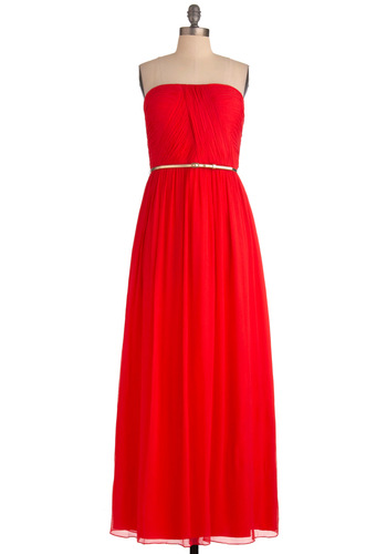 The Local Muse in Red dress, from modcloth.com