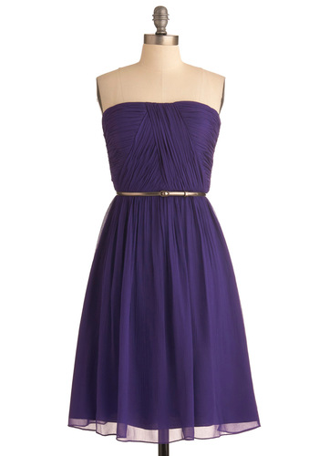 Time of my life dress in violet, from modcloth.com