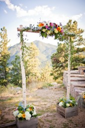Wedding altar idea