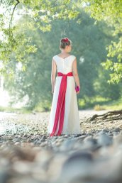 Wedding dress, by nonimode on etsy.com