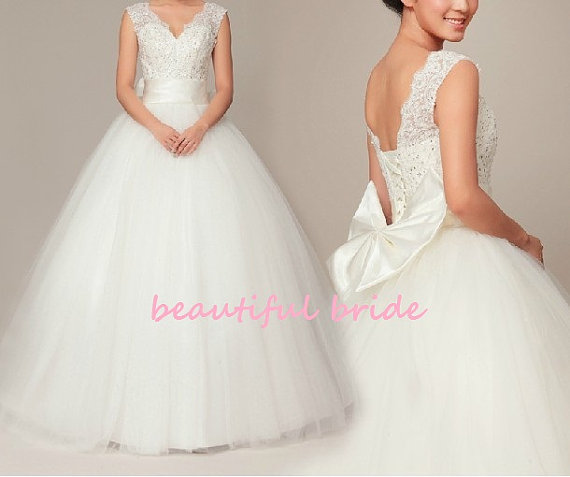 Wedding dress - US$428, by BeautifulBride1016 on etsy.com