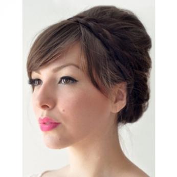 Astonishing Wedding Hairstyles Part 2 The Merry Bride Short Hairstyles Gunalazisus
