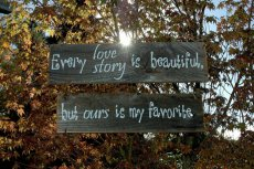 Wooden sign, by AllMyGoodness on etsy.com