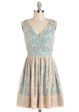 Wouldn't It Be Ice dress, from modcloth.com