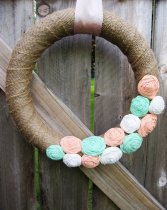 Wreath, by livingstonbydesign on etsy.com