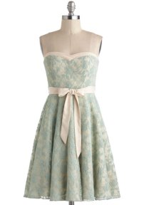 A Chance To Dance dress in mint, from modcloth.com