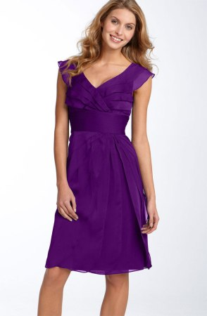 Adrianna Papell Tiered Chiffon Dress, from nordstrom.com