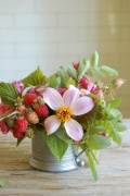 Berries look great when added to flowers as a centrepiece