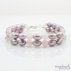 Bracelet, by magsbeadscreation on etsy.com